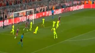 Бавария VS Барселона - Что делается на поле, вот это игра!