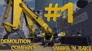 Demolition Company - Let's Play - Part 1 - If I had a hammer.