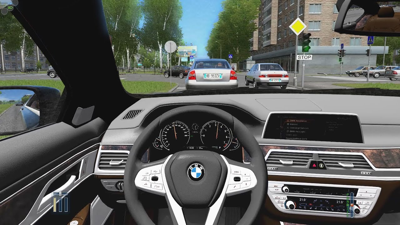 City Car Driving Bmw X7