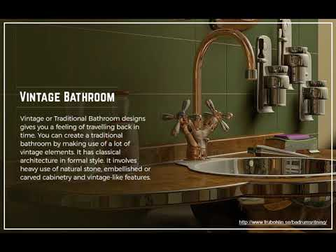 How to Create Eclectic Style Bathrooms