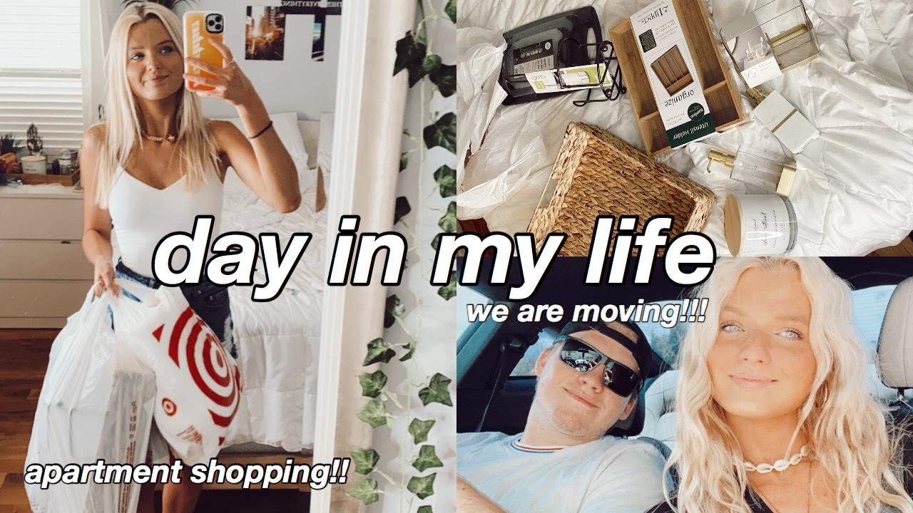 DAY IN MY LIFE: apartment shopping, life updates, shopping haul
