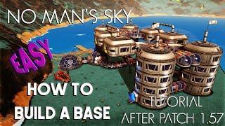 Temel Kılavuzu ve Öğretici Oluşturmak İçin Nasıl bir SONRAKİ 1.57 güncellemeden sonra No man's Sky - Temel Yapı - ()