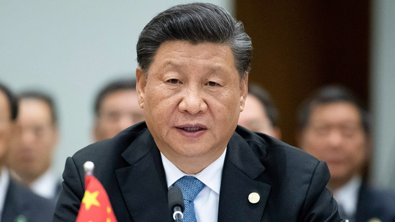Chinese President Xi Jinping urges stop to violence - YouTube