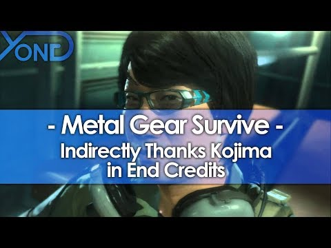 Metal Gear Survive Indirectly Thanks Kojima in End Credits
