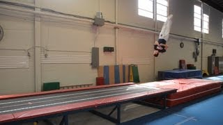 How to Do a Double Full Twist | Gymnastics Lessons