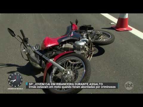 Jovem morre em acidente de moto após ser perseguida por criminosos | Primeiro Impacto (13/11/17)