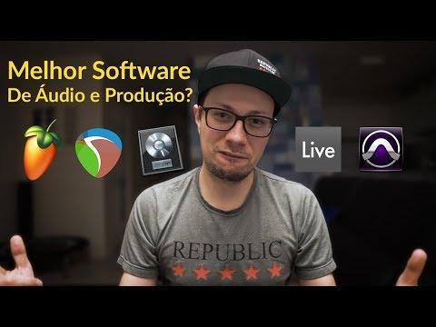 Qual Melhor programa de gravação de áudio e Produção Musical? Como escolher (2018)