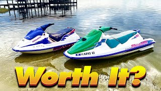 $500 Pair of Jet Skis First Test Ride - Episode 2