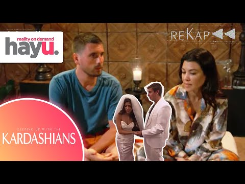 The Scott & Kourtney Tumultuous Love Story | Season 1-19 | reKap | Keeping Up With The Kardashians