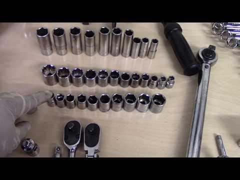 Basic tools for entry level Mechanics