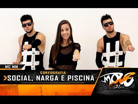 Social, Narga e Piscina - MC MM - Coreografia - Move Dance Brasil (KondZilla)