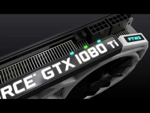 EVGA GeForce GTX 1080 Ti FTW3 with iCX Technology
