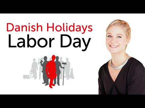 Danish Holidays - Labor Day - Arbejdernes internationale kampdag