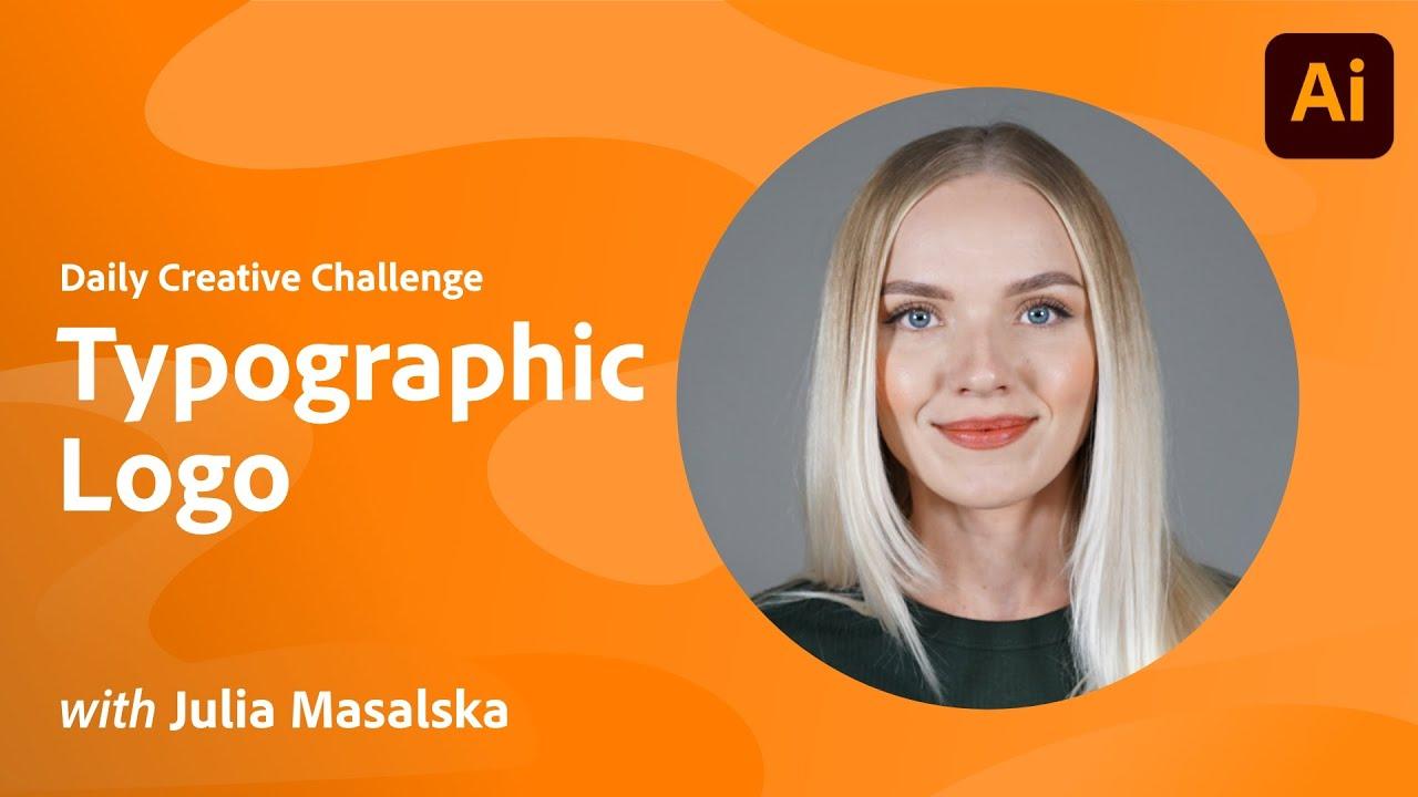Illustrator Daily Creative Challenge - Typographic Logo