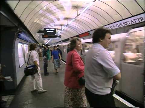 Transport - tube, trains, cars 1991