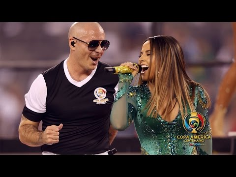 Becky G - Feat. Pitbull Superstars (Live At Copa America)