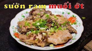 Cả nhà háo hức chờ món SƯỜN RAM MUỐI ỚT của Mẹ để ăn cơm tối   Zui Vào Bếp