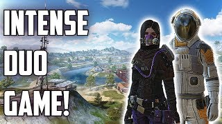 INTENSE MATCH WITH MY GIRLFRIEND! - Rules of Survival: Battle Royale