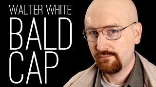 Applying a Bald Cap to Become Walter White