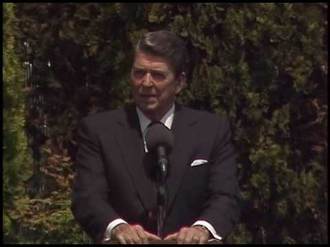 President Reagan's 41st Press Conference in Venice, Italy on June 11, 1987