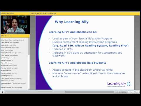 Lexercise Live Broadcast 31: Learning Ally's Mary Alexander