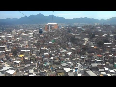 Teleférico do Complexo do Alemão - Rio de Janeiro Favela Cable Car System