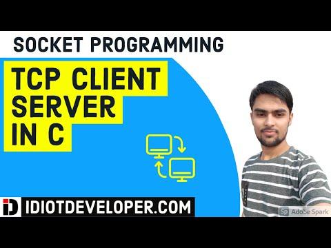 TCP Client  Server Program in C