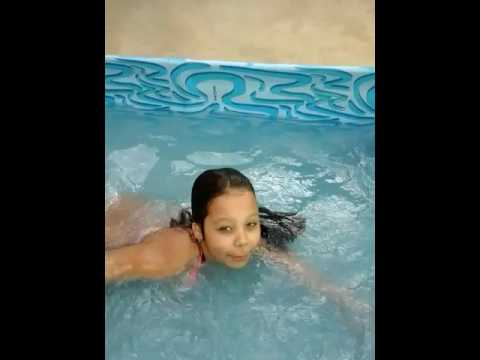 desafio  da piscina com juju