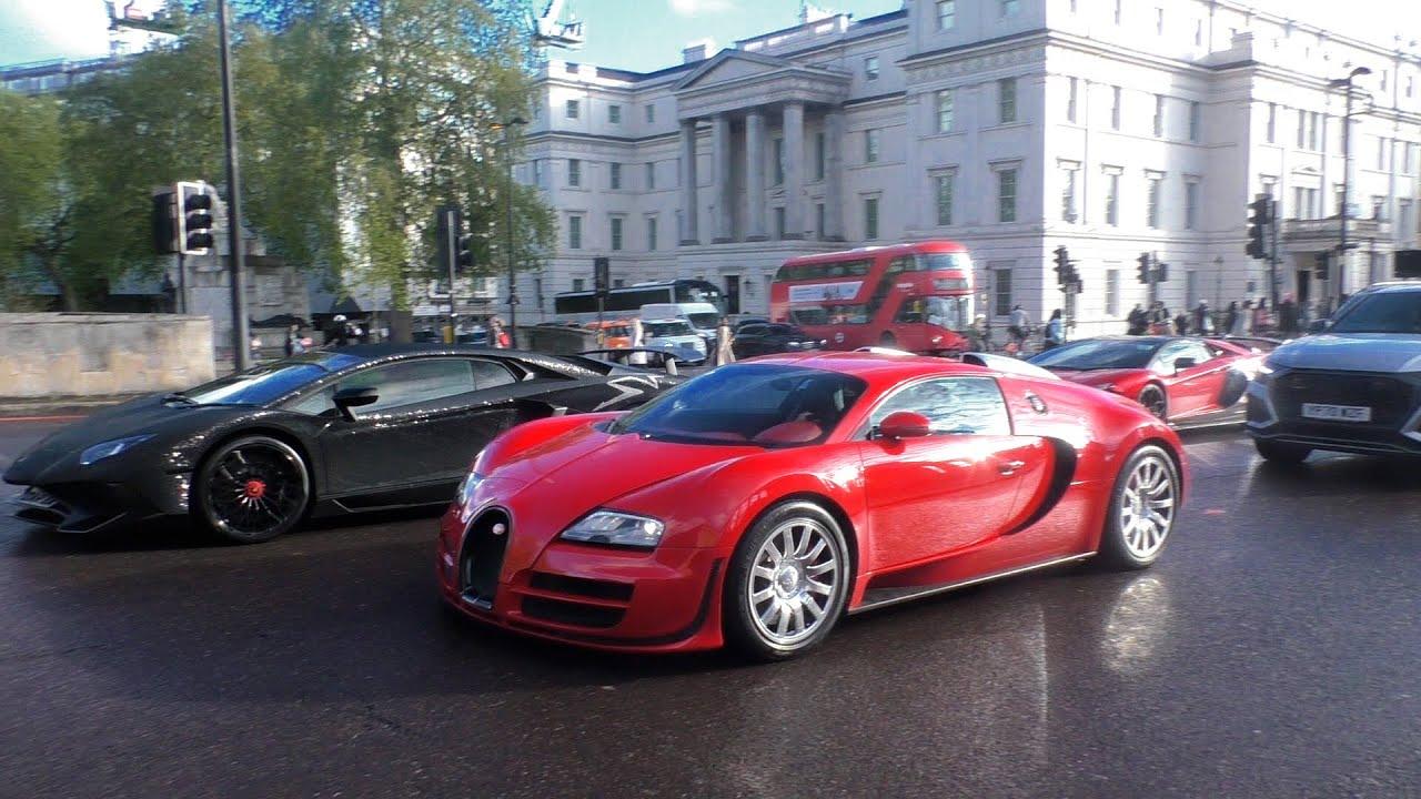 SUPERCARS in LONDON June 2021