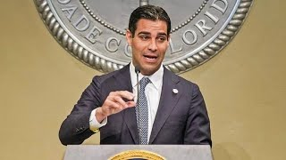 Miami mayor discusses rise in COVID-19 cases in Florida and police reform