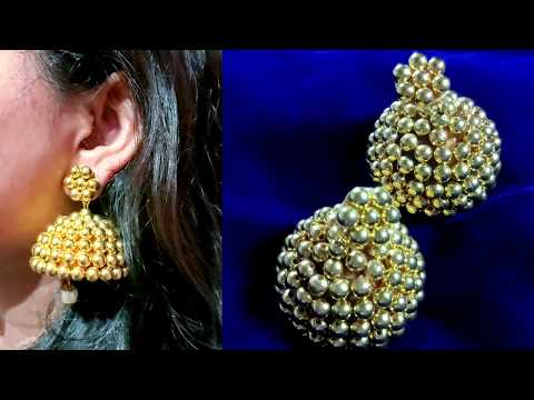 Earrings Making | Make a Gold Pearl Earring (Today)