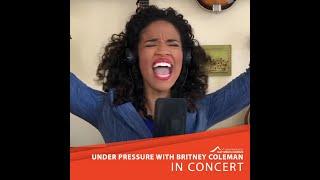 """Under Pressure"" Virtual Performance –HomoPhonics & The Lollipop Guild feat. Britney Coleman"