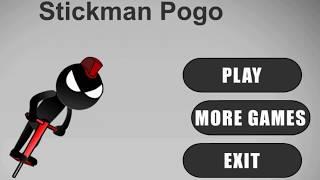 Stickman Pogo - Funny Free Android Game - Review Gameplay Trailer (Скачать бесплатную игру Стикмен)