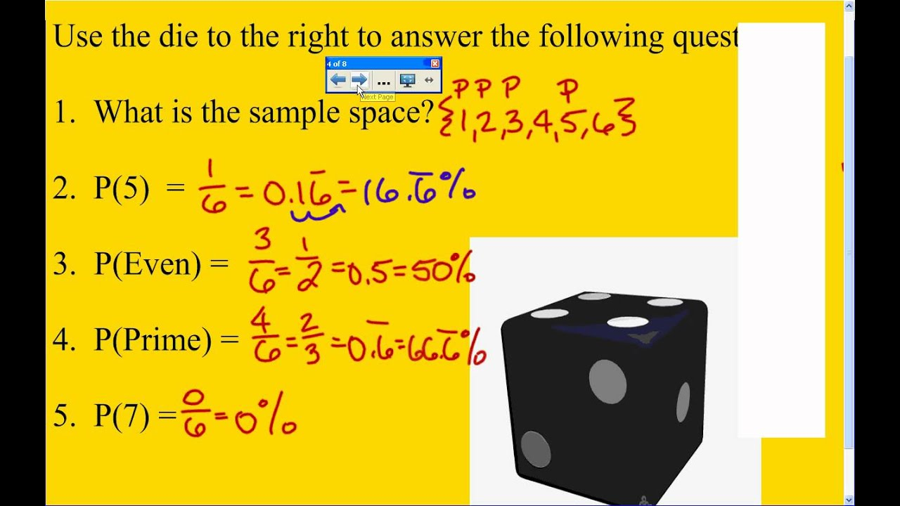 Lesson on Finding Probability and Sample Space - YouTube
