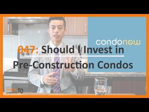 Should I Invest a Pre Construction?