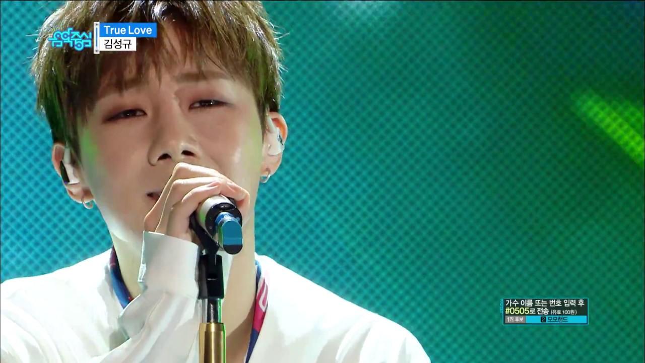 【TVPP】Kim Sunggyu - 'True Love', 김성규 - 트루러브 @Show Music ...