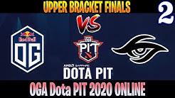 OG vs Secret Game 2   Bo3   Upper Bracket OGA Dota PIT 2020 Online   DOTA 2 LIVE