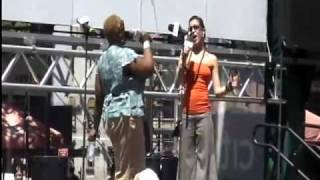 Ava Gaudet & Frenchie Davis @Bryant Park,Take me or Leave Me