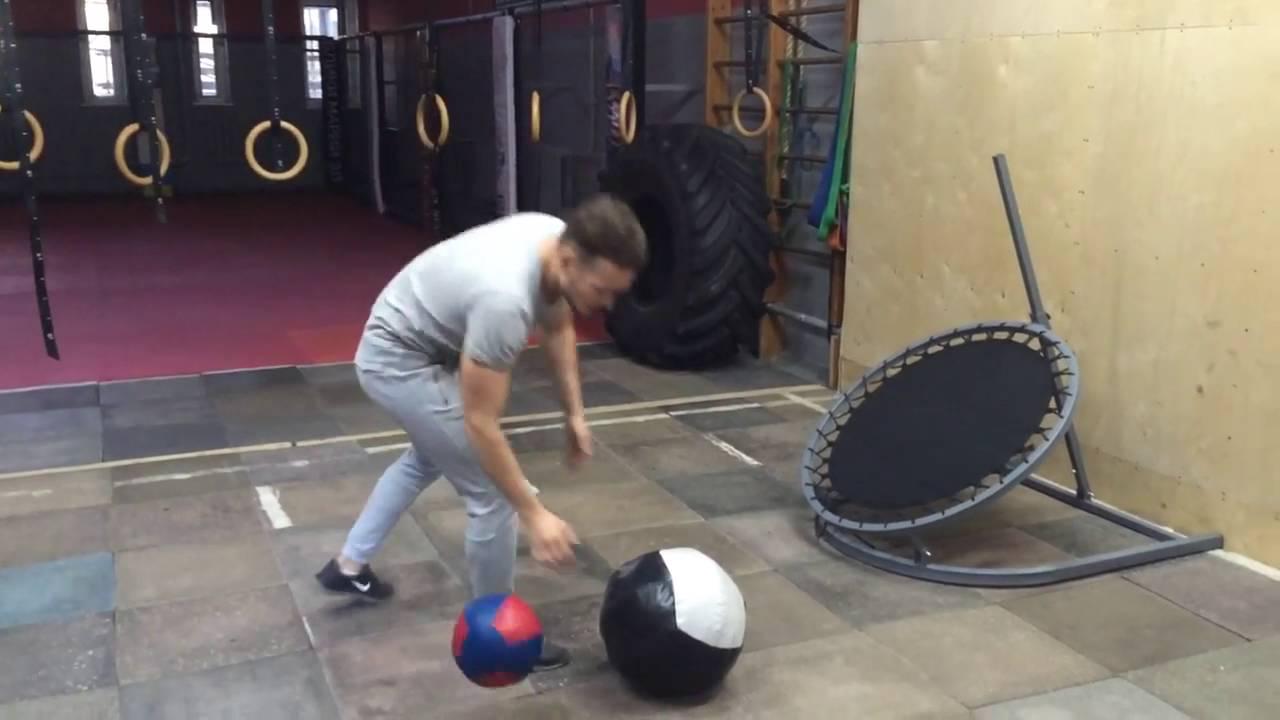 МЕДИЦИНБОЛ тренировка упражнения кроссфит - YouTube