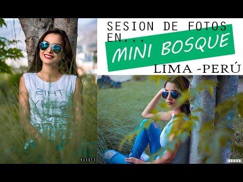 Sesión de fotos en mini Bosque // Lima - Perú