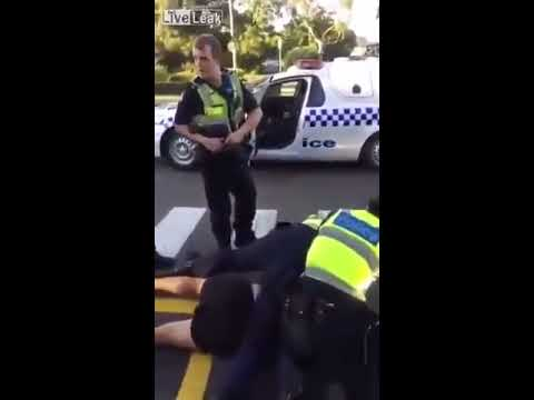 Muslim man fights police in Australia before being GASSED