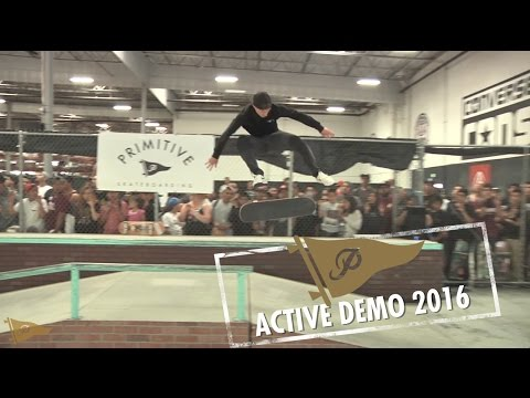 Paul Rodriguez Shane O'Neill and more | Primitive Skate Active Demo