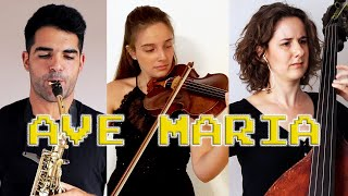 AVE MARIA for saxophone, violin and double bass.