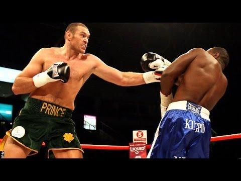 TYSON FURY VS KEVIN JOHNSON FULL FIGHT