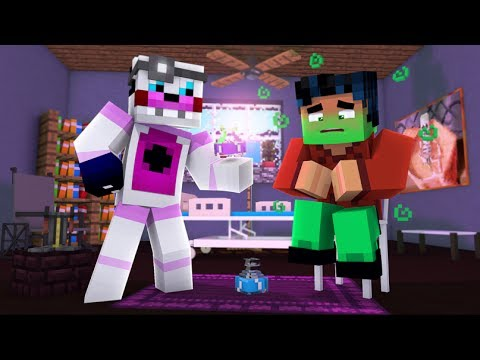 Minecraft Fnaf: Funtime Freddy Helps Steve with Potions (minecraft Roleplay)