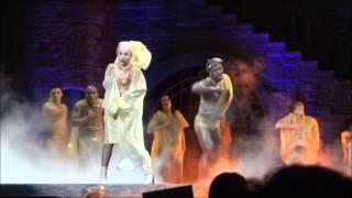 """[HD] Lady Gaga - Costa Rica """"Black Jesus † Amen Fashion"""""""
