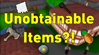 RuneScape Classic's Mysterious Unobtainable Items