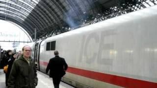 Brand eines ICE Triebkopfes in Frankfurt/ M Hbf (3)