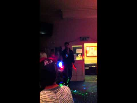 Spandau Ballet - Gold - Lee F at Xmas Party Karaoke