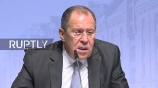 Lavrov holds press conference on sidelines of 23rd OSCE Ministerial Council   ENG